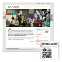 PM-Angell Family website