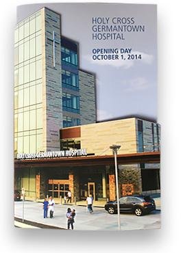Holy Cross Germantown Hospital Opening Commemorative Brochure